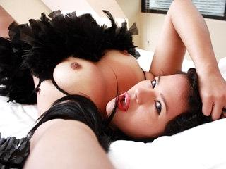 Marvelous Colombian chick Daniela Rojas sucks and fucks a hard cock